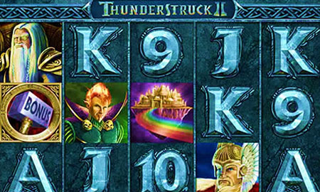 Thunderstruck 2 - Slot with a +97% RTP rate