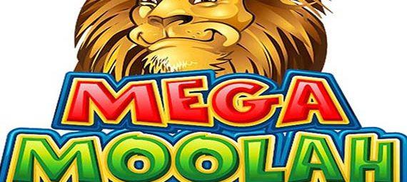 Mega Moolah jackpot slot logo